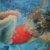 Submerged V
