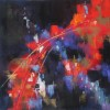Meli Calkins Item 446 Red Abstract