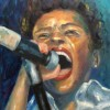 Rachel Weissberger The Singer 20x16