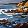 Peter Fleischner CALIFORNIA COAST WEB