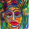 Gayle Rosenbaum Jungle Fever Oil 20x30