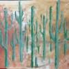 GMartinez Desert Saguaros Oil Paint 24x36 E1494534555834