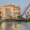 Jane Thorpe Work Days End Catalina 10x12 Oil On Panel 750 E1498945585193