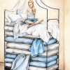 Emily Bostwick Princess And The Pea 11x14 Colored Pencils 200