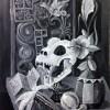 Keryl Kris Reinke DiosMio 2017 Acrylic 18x24 500 Reinke