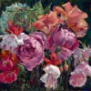 Frances Pampeyan Roses And Fuscias 12x12 E1513187984202