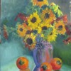 Watson Persimons And Sunflowers Oil 16x12 450 E1513186574104