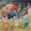 Paula Diggs Watercolor Black Hole 16X20 400
