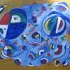 Robert Berole Geometric Abstract Oil 16x20 300 E1519240566916