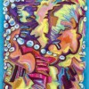 Viktoria Romanova Aquatic Treasures 32x24 Mixed Media On Paper 2200. E1519238808576