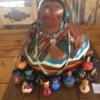 Barbara Eisenman Storyteller 4 X 5 X 5 Gourd Art 375 E1524339288957