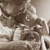 Beth Weeks Therese Verner Great Grandma And Baby Sepia Photography 11x141500  E1524333886672