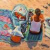 Carol Fuller Peace At Last 16x20 Acrylic 500