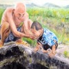 Julie Wu Grandpa I Am Thirsty 16x20 Oil On Canvas 950 E1524333607210