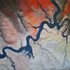 Cindy Medlynn Colorado River Glen Cyn Acrylic 24x24 575 E1529080176121
