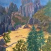 Karen Schroder Pinnacles National Park  16x20  Acrylic E1529078815964