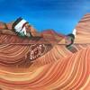 LeeFields SpiritofVermillionCliffsNationalMonument 24x24 Acrylic On Board 1250 E1529102789692
