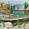 Judy Heimlich Peggys Cove Watercolor 28x35 E1534024672297
