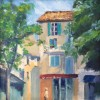 Trish Alexandria LIsle Sur La Sorgue 10x10 Oil On Canvas 300