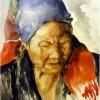 Janet Rosen Montagnard Weaver Of Vietnam 16x12 Watercolor 1250 E1538712887851