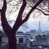 Judy Heimlich Un Soir A Montmartre 22x29 Watercolor 1200