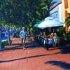 Robert Scopinich StateStreet 11x14 Oil On Canvas 450