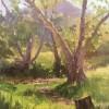 Vickie Pellouchoud Morning Sun Peter Straus Ranch 2000 Oil O 9x12 E1538713426306